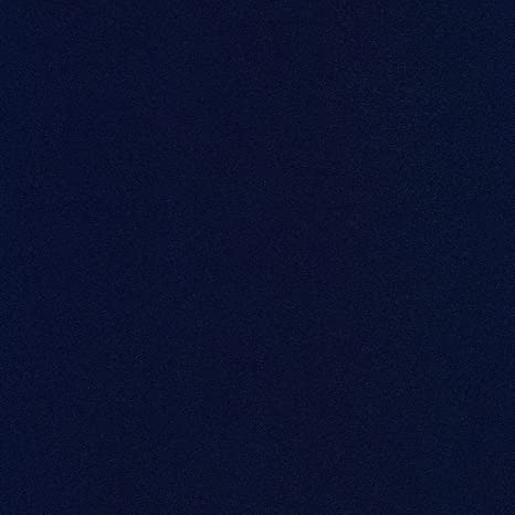 4mts Super Alta Calidad 100/% tela de sarga de algodón fino 2-PLY Azul Marino