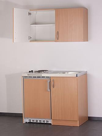 Pantry Küche mebasa mebakb100os küchenblock pantryküche buche 100 cm duo