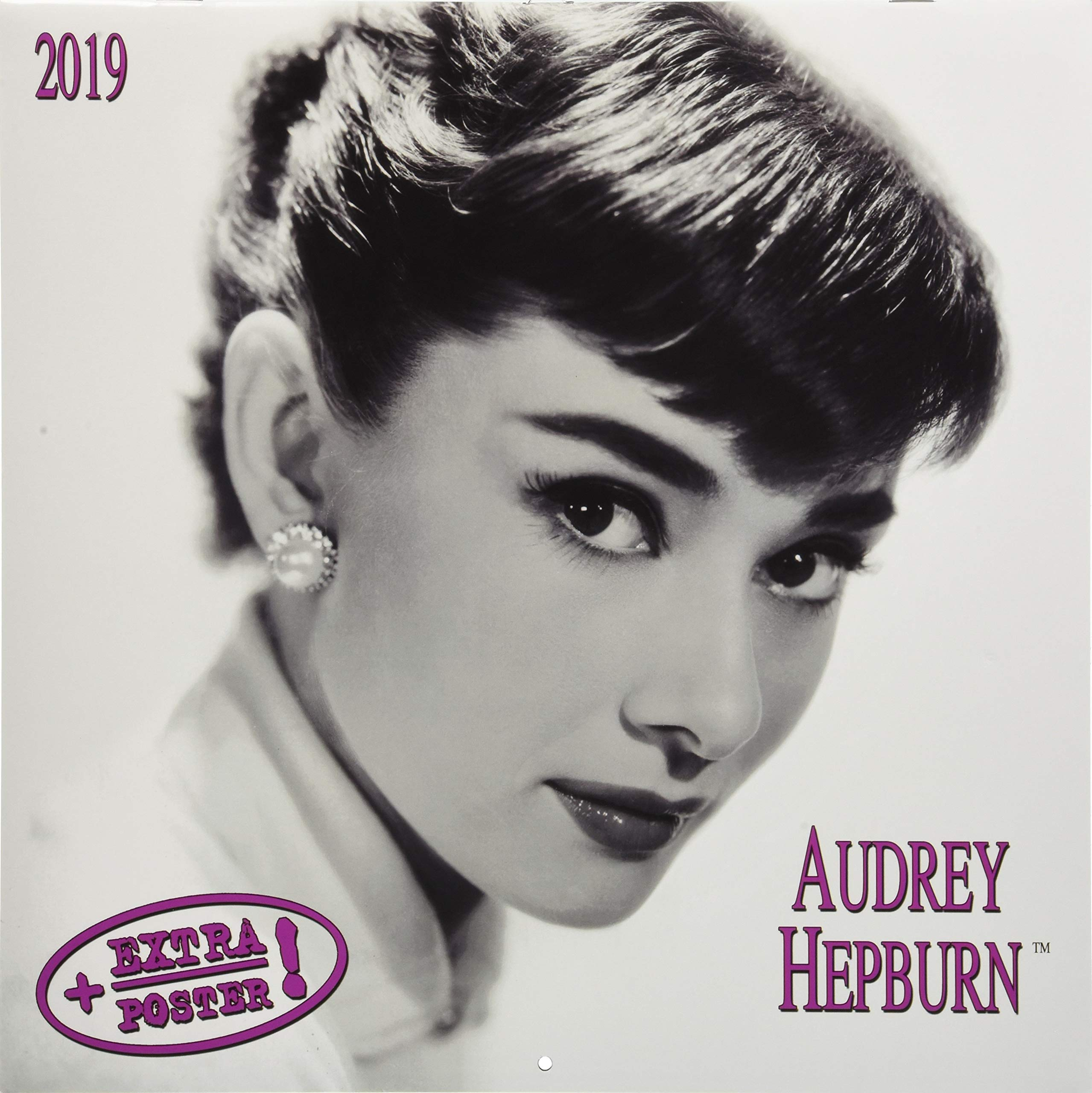 Audrey Hepburn 2019 Kalender 2019 Artwork Extra Amazonde