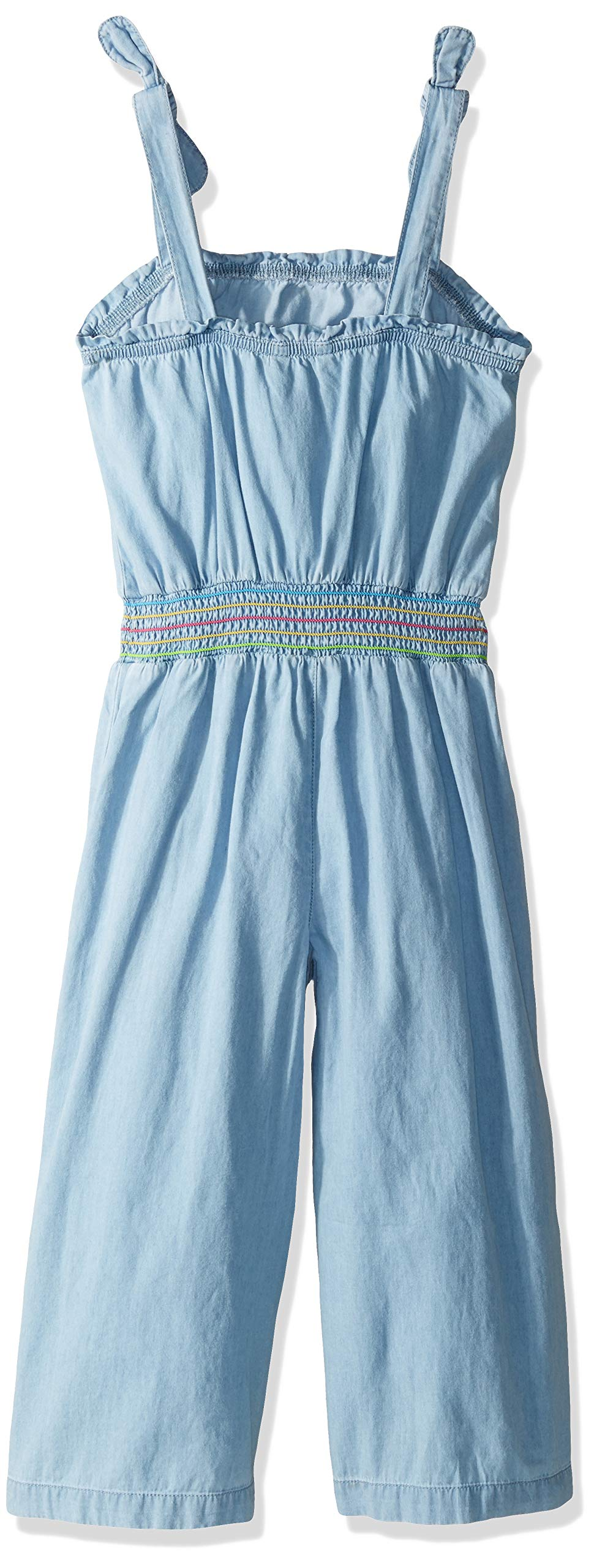 Tommy Hilfiger Big Girl's Big Girls' Fashion Jumpsuit Shorts, denim bowery, S7 by Tommy Hilfiger (Image #2)