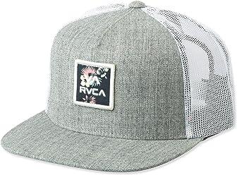 RVCA Mens Va All The Way Mesh Back Trucker Hat