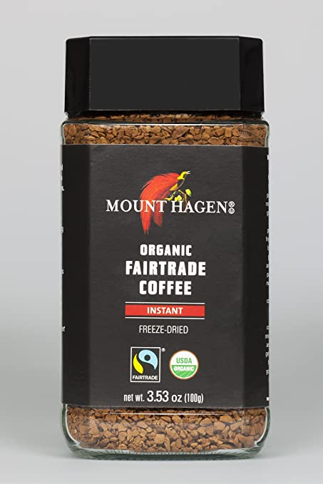 Mount Hagen Organic Freeze Dried Coffee Review