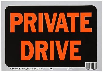 "Surveillance Sign Plastic 8.5/"" x 12/"" White"
