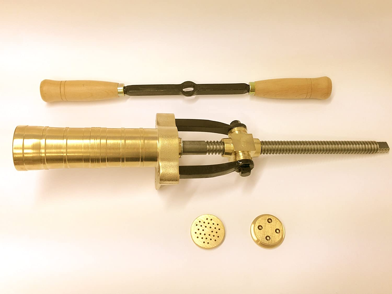 Il Bigolaro n/°6 brass pasta extruder