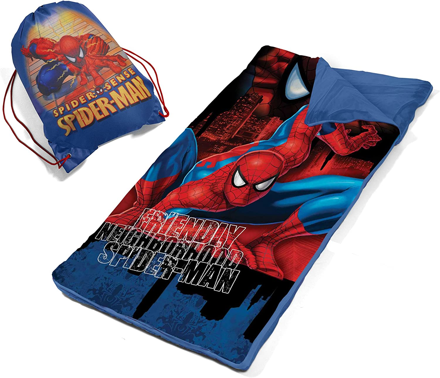 Marvel Spiderman Slumber Bag Set