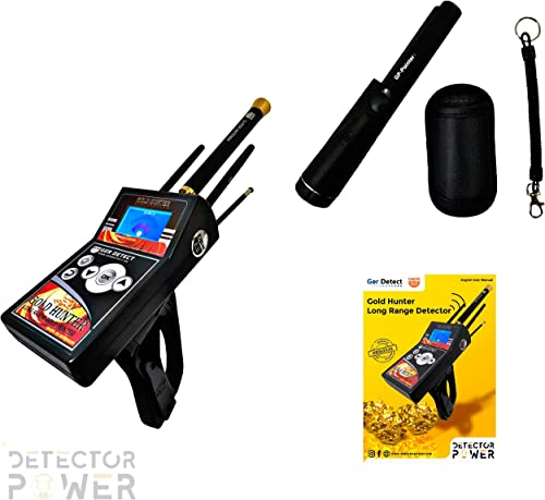 Gold Hunter 2019 Last Version 6 Search Systems Free GP Pinpointer. Long Range Metal Detector