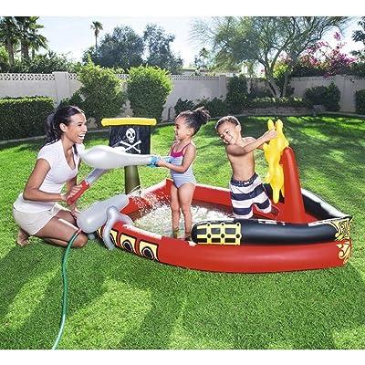 Longwei Piscine pour enfants Gonflable océan Balle Piscine enfant Pataugeoire Piscine au sable 2-3 personnes rouge