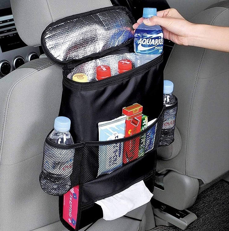 Autoark Standard Car Seat Back Organizer,Multi-Pocket Travel Storage Bag(Heat-Preservation),AK-002