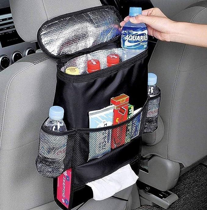 In2novationmark Car Seat Side Pockets Eight Treasure Chair Side Pockets Multi-function Mobile Phone Debris Bag Storage Bag R-0169