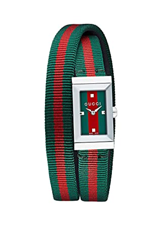 1b0d7fb522d Image Unavailable. Image not available for. Color  GUCCI G-FRAME LADIES  WATCH YA147503