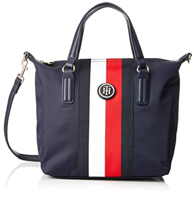 99642f325c9 Tommy Hilfiger Poppy Small Tote Stp, Women's Tote, Blue (Corporate),  23x15x22