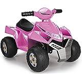 Feber 800011422 Quad Racy 6V Veicolo, Rosa