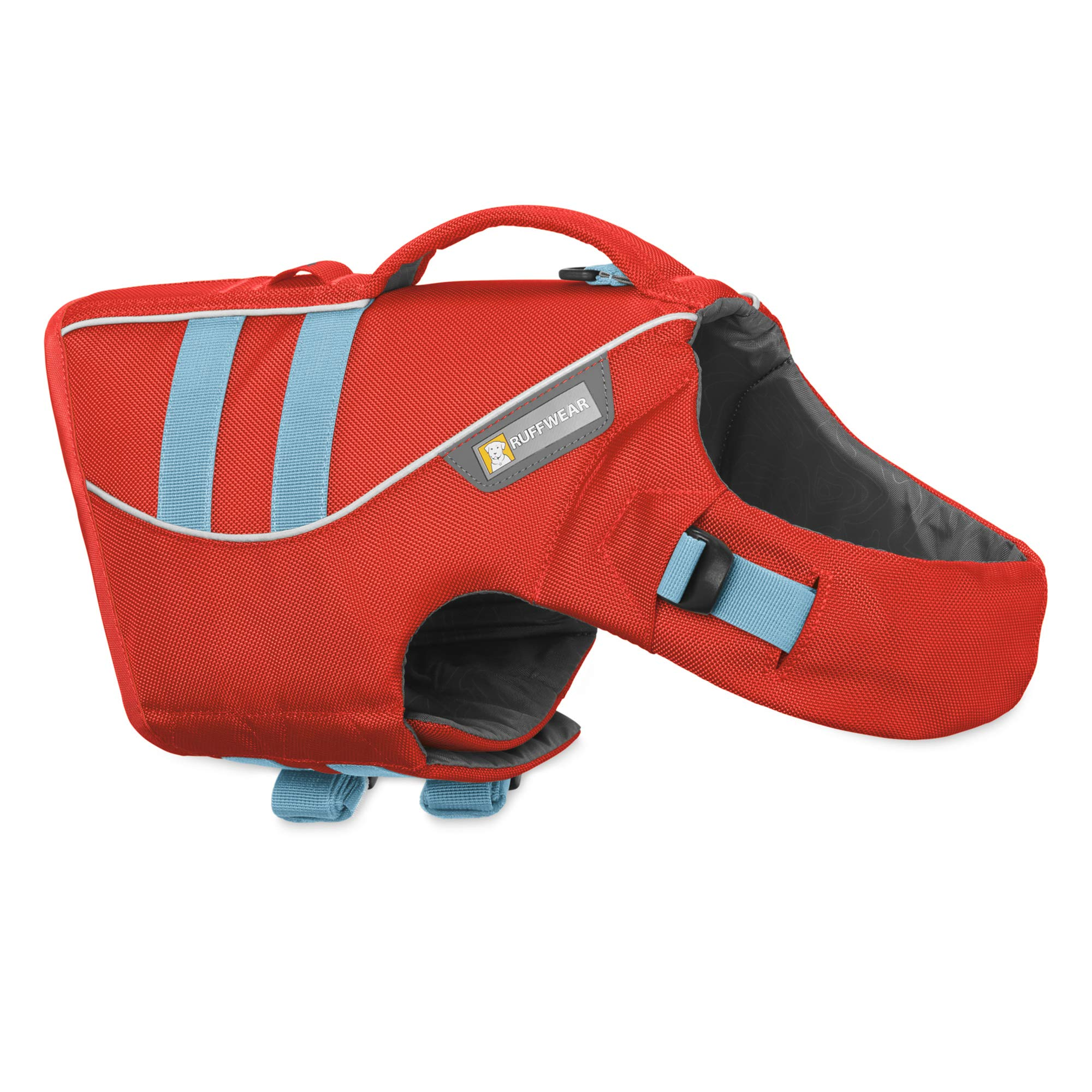 RUFFWEAR - Float Coat Dog Life Jacket for Swimming, Adjustable and Reflective, Sockeye Red, Large by RUFFWEAR