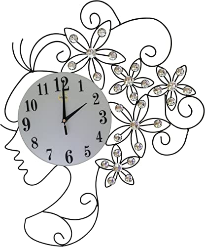 Contemporary Metal Wall Clock Fancy