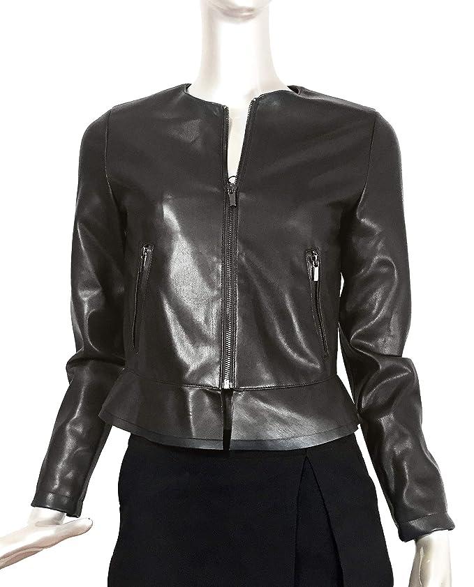 4ac0f8024 Zara Mujer Cazadora efecto piel 3046/254 (Medium): Amazon.com.mx ...