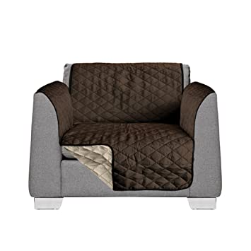 Akc 2 In 1 Brown Sofa Covers For Dogs Reversible And Quilted Slip Covers For Chairs Armchair Cover For Dogs 1 Piece Machine Washable Sofa Chair