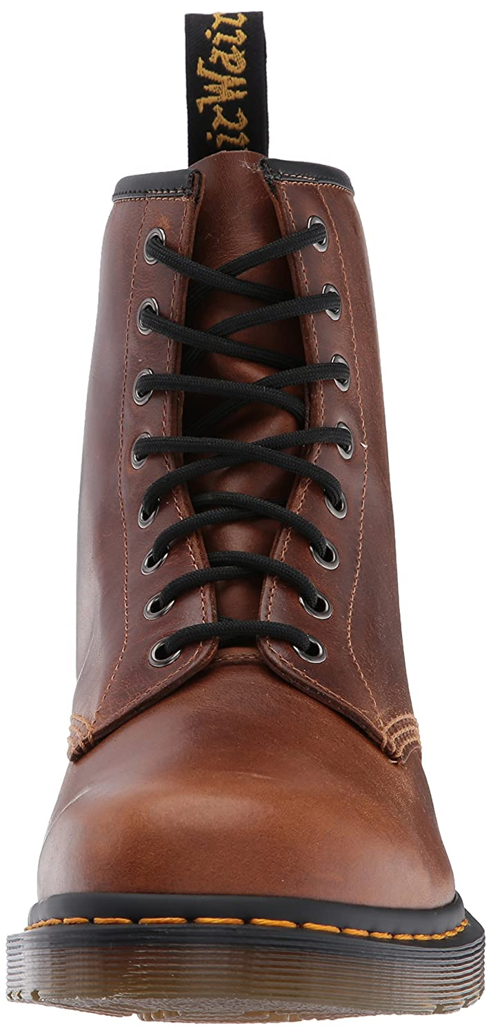 Dr.Martens Mens 1460 Boots 8 Eyelet Leather Boots 1460 Butterscoth Orleans 276ecc
