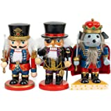 Multi Santas Workshop 70941 Halloween Nutcracker Ornaments 5.5 2 Piece Set of 2