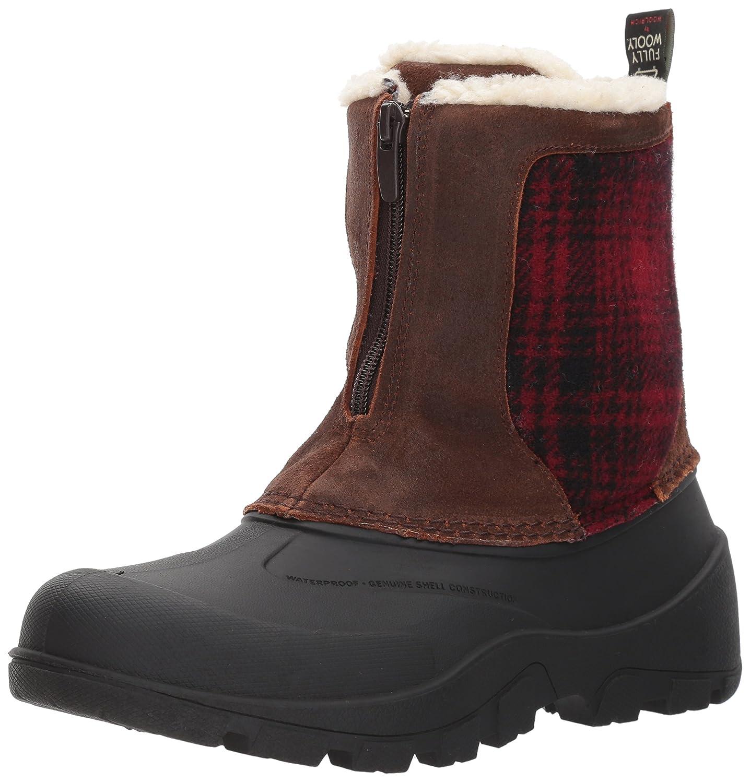Woolrich Women's Fw IceCat Snow Boot B01N4DC3SZ 6.5 B(M) US|Coconut/Red Hunting Plaid