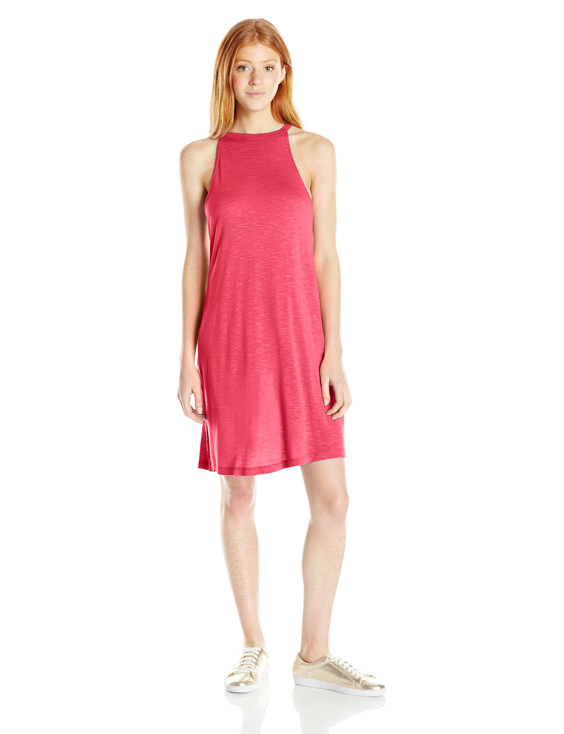 Roxy Junior's Summer Breaking Dress, Geranium, Small