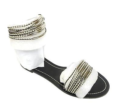 4de06a26e6f9 Tory Burch Mignon Braided Flat Sandal in Black Ivory (7.5 B(M) US ...