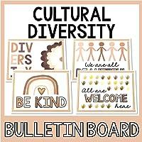 Cultural Diversity Bulletin Board Idea | Posters | 8.5x11