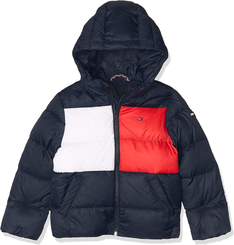 Tommy Hilfiger Padded Flag Jacket Chaqueta para Niños: Amazon.es: Ropa y accesorios