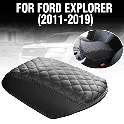 KMMOTORS Automotive Customized Console Armrest Cushion Only for Ford Explorer SUVs 2011-2020 (Ford Explorer): Automotive