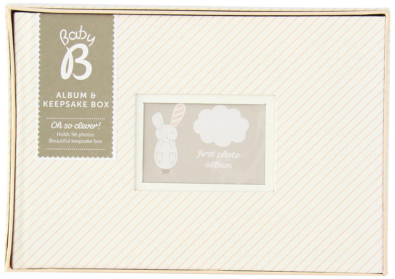 Busy B Baby B Album and Keepsake Box - Girl Pink by Busy B   B00I088N3K