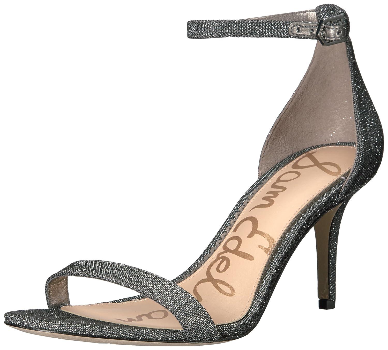Sam Edelman Women's Patti Dress Sandal B01MQVOLCB 5 B(M) US|Pewter Glitzy Fabric