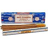 Satya Nag Champa - Varitas de incienso (40 g)