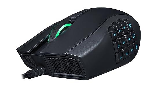 Razer Naga Chroma - Ratón (Mano Derecha, Laser, USB, 16000 dpi, Negro): Amazon.es: Informática