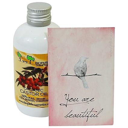 biopark cosméticos Orgánica Aceite de ricino, 100 ml