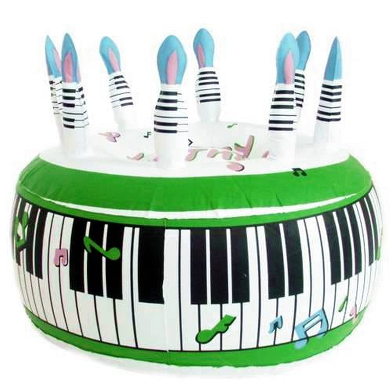 Inflatable Birthday Cake Amazoncouk Toys Games