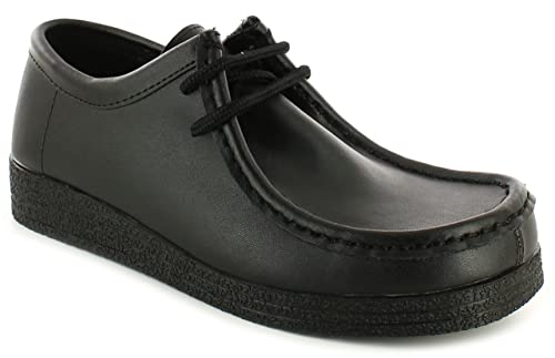 special discount sells forefront of the times Love Leather Aries Womens Other Leather Material Flats Shoes Black Leather