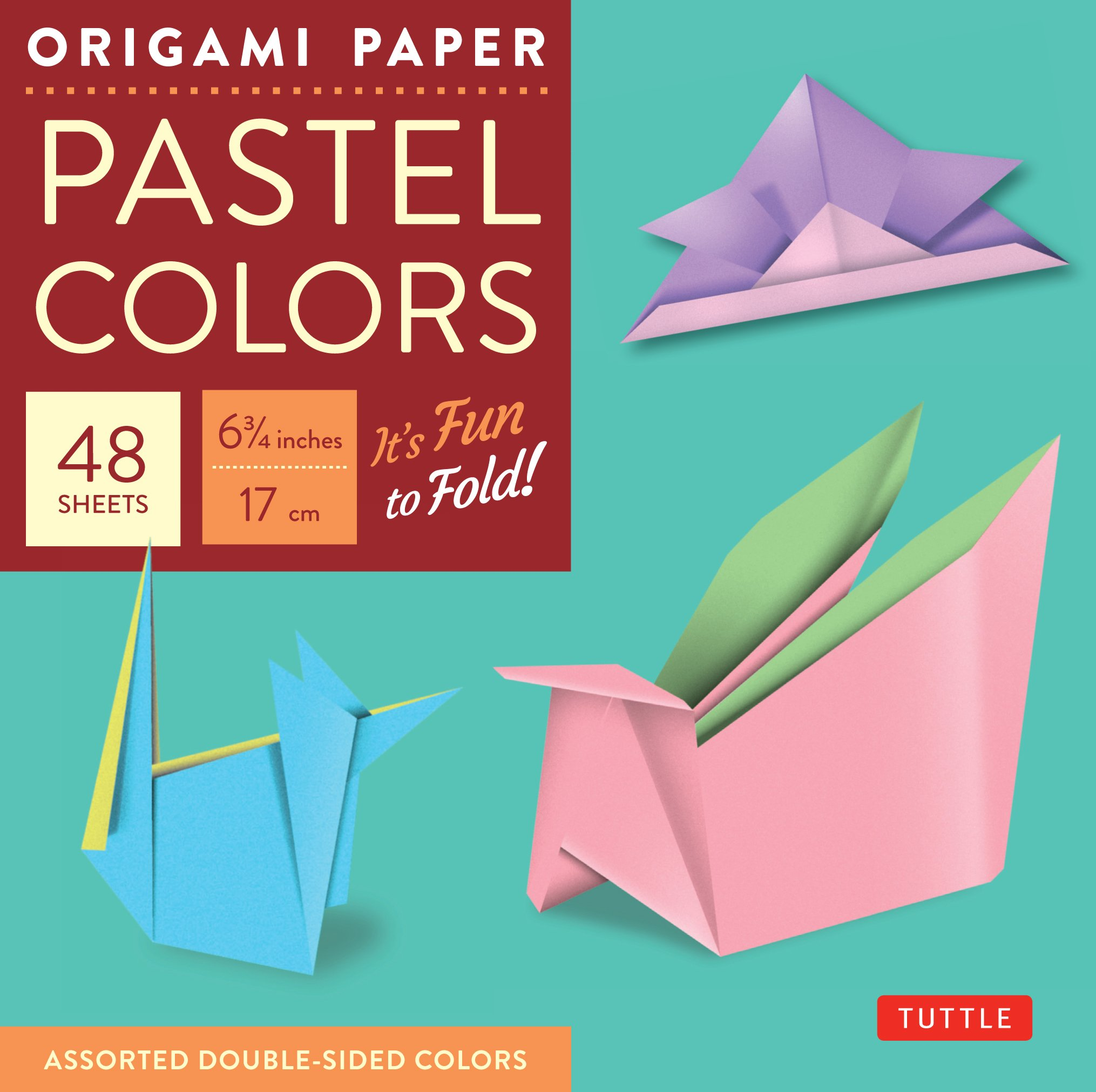 Amazon.com: Origami Paper - Pastel Colors - 6 3/4\