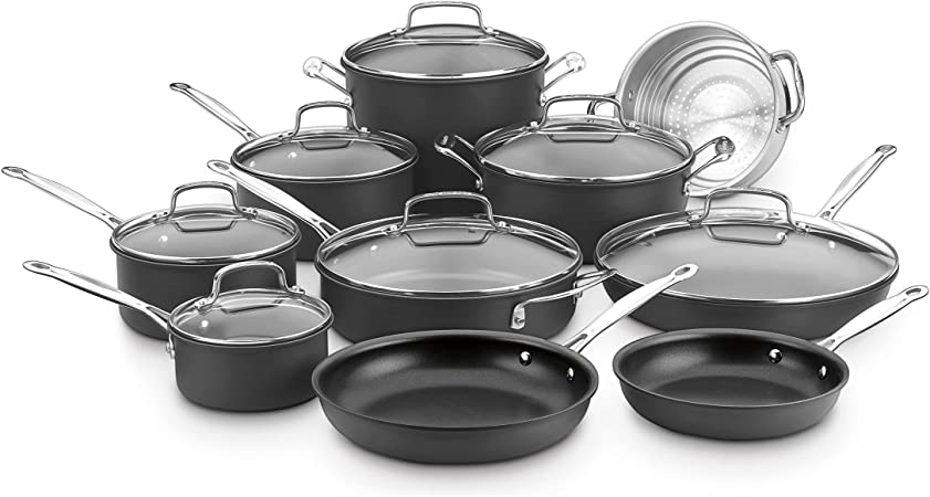 Cuisinart 66-17 Chef s Classic Nonstick Hard-Anodized 17-Piece Cookware Set DISCONTINUED BY MANUFACTURER