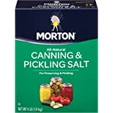 Morton Canning & Pickling Salt, 4 Pounds