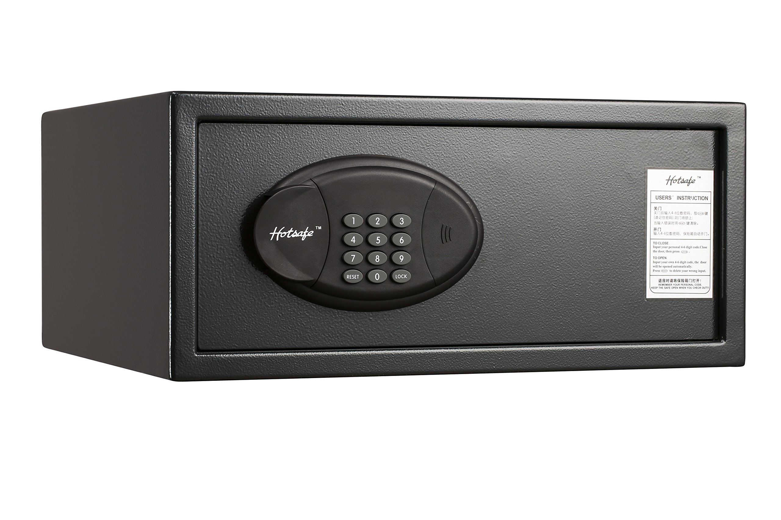 QNN Safe MB2045 Residential and Hotel Safes, Small, Black