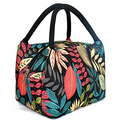 97a7def9c3ae Lunch Box Women,Insulated Cooler Bag/Bento Bag for Kids,Portable Tote Bag  Waterproof and Durable
