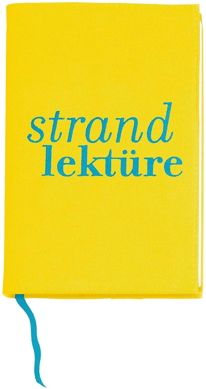 Moses Libri_x 81566 - Custodia protettiva per libro, motivo decorativo:Strandlektüre, taglia L moses. Verlag GmbH
