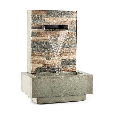 Blumfeldt Watergate Fontaine De Jardin Decorative Interieur Et Exterieur Circulation De 1000 L H Pompe De 15 W Metal Galvanise Protection Ipx8