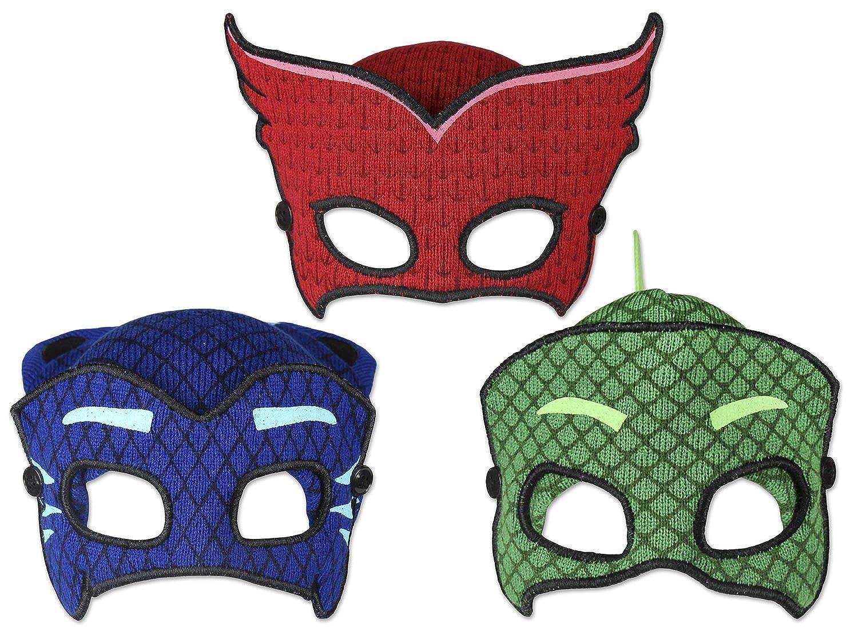 [Pj Masks Gekko - Talle único] Characters Cartoons - Gorro con Máscara - para niño - 22-259X: Amazon.es: Ropa y accesorios