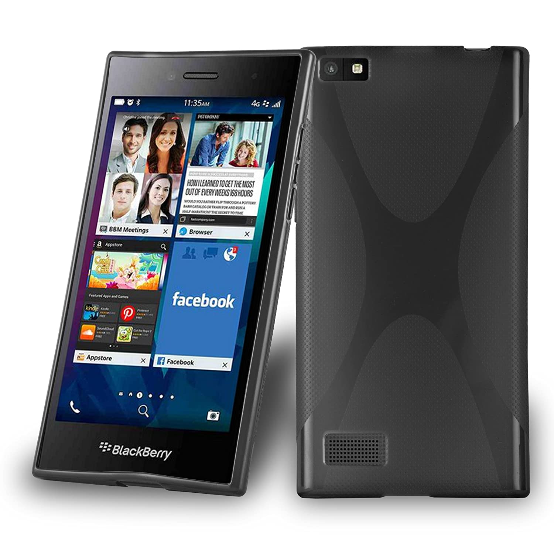 Amazon com: Cadorabo Case works with Blackberry LEAP/Z20 Ultra Slim