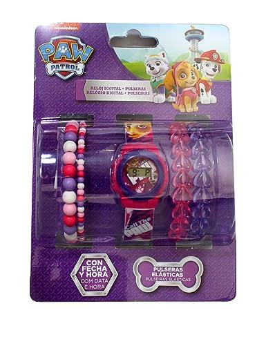Reloj infantil de la Patrulla Canina de Disney más cartera.: Amazon.es: Relojes