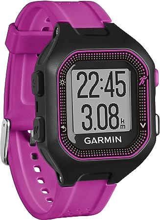 Garmin Forerunner 25 Reloj Deportivo Producto refurbish, Negro/Morado, S (Reacondicionado Certificado): Amazon.es: Deportes y aire libre