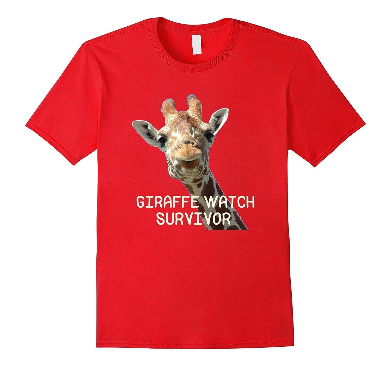 April The Giraffe Watch Survivor T shirt 2017 Funny shirt-TD
