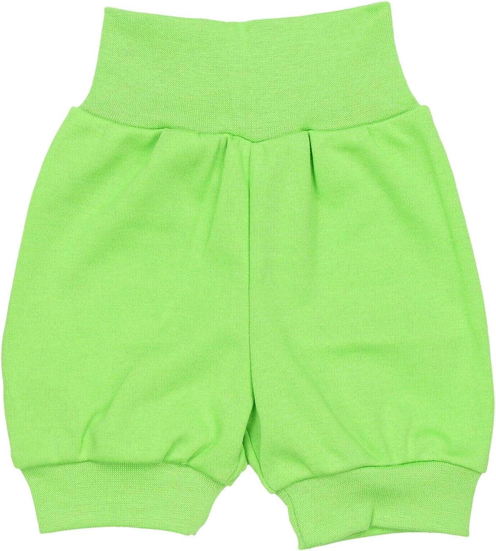 TupTam Unisex Baby Pumphose Sommershorts Baumwolle 5er Pack