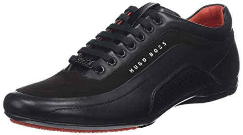 10977d3a4b8 BOSS Hugo Boss Men s HB Racing Trainers US 8 Black  Amazon.ca  Shoes ...