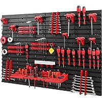 Gereedschapswand -1152 x 780 mm – set gereedschapshouders met gatenwand, opslagsysteem, gereedschapswand, wandrek…